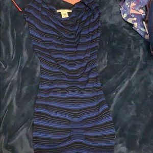 Blue and black MAX STUDIO dress